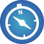 Business Mindset Icon blue