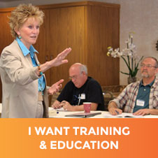 I Want Training and Education