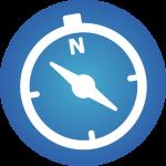Business Mindset Icon blue